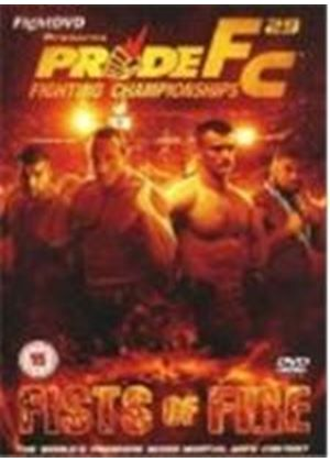 Pride 29 - Fists Of Fire