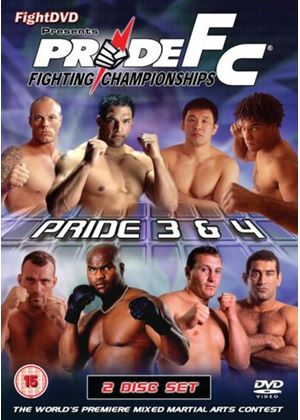 Pride 3 And 4(2 Disc)