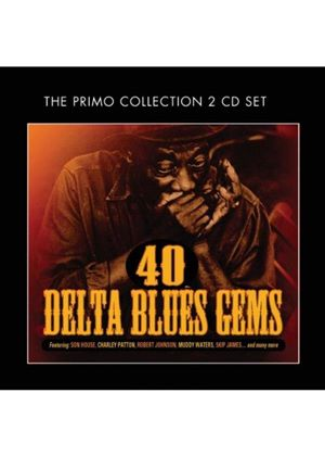 Various Artists - 40 Delta Blues Gems (Music CD)