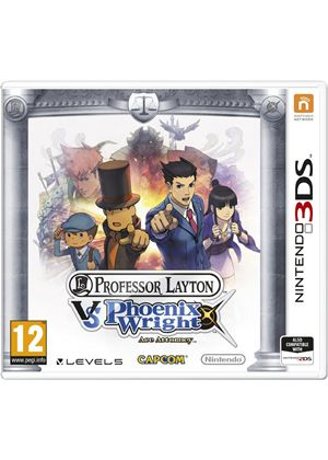 Professor Layton vs. Phoenix Wright: Ace Attorney  (3DS)