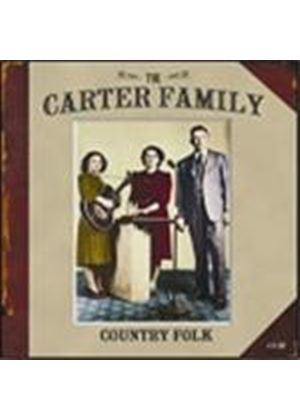 The Carter Family - Country Folk (Music CD)
