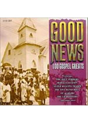 Various Artists - Good News: 100 Gospel Greats (Music CD)