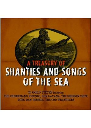 Various Artists - A Treasury of Shanties And Songs of The Sea (Music CD)
