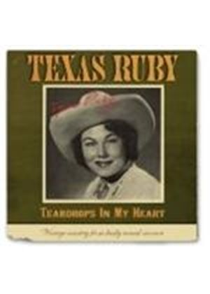 Texas Ruby - Teardrops In My Heart (Music CD)