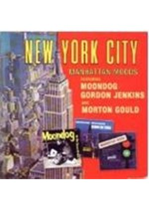 Gordon Jenkins Moondog & Morton Gould - New York City - Manhattan Fables (Music CD)