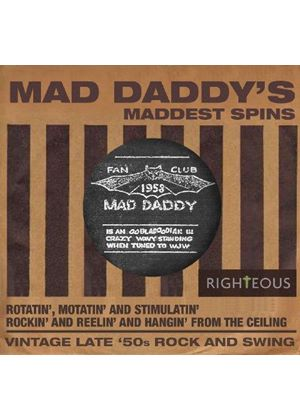 Various Artists - Mad Daddy's Maddest Spins (Music CD)