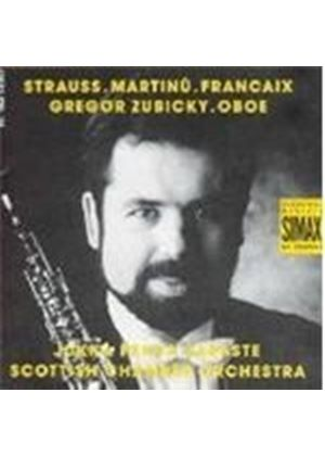 Francaix/Martinu/Strauss - LHorloge De Flore (Saraste, Scottish CO) (Music CD)
