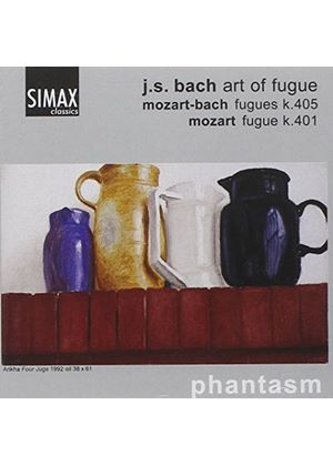Bach: Art of Fugue. Mozart: Fugues
