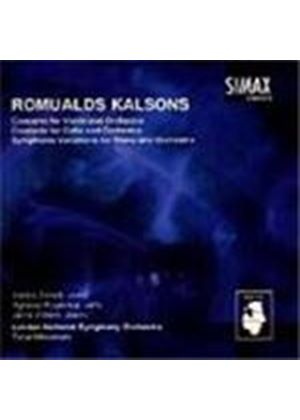 Kalsons: Concertos - Violin; Cello; Piano and Orchestra