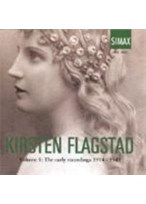 KIRSTEN FLAGSTAD - EARLY RECORDINGS 1914-1941 VOL1 3CD