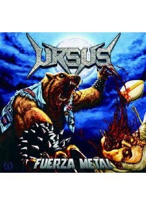 Ursus - Fuerza Metal (Music CD)