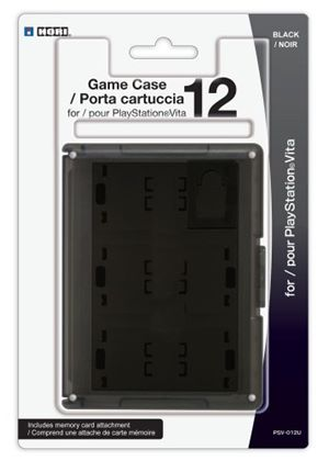 Card Case 12 - Black (PlayStation Vita)