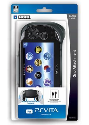 Hori Officially Licensed Grip Attachment (PlayStation Vita)