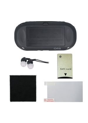 ORB Accessory Pack - Black (PlayStation Vita)