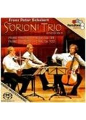 Franz Schubert - Piano Trios Nos. 1 And 2 (Storioni Trio) [SACD/CD Hybrid] (Music CD)