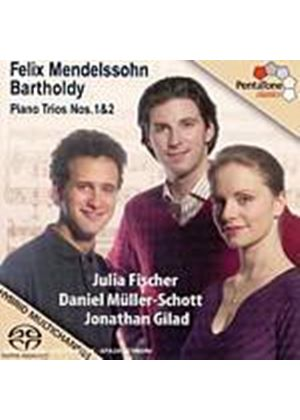 Felix Mendelssohn - Piano Trios Nos. 1 And 2 (Fischer, Gilad) [SACD/CD Hybrid] (Music CD)