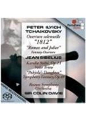 Sibelius: Orchestral Works; Tchaikovsky: Overtures [SACD]