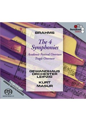 Brahms: The 4 Symphonies (Music CD)