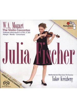 Mozart: The Violin Concertos (Music CD)