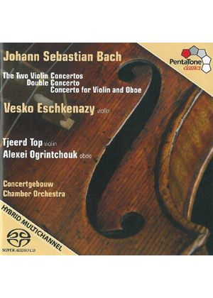 Bach: Violin Concertos Nos. 1 & 2; Concerto for 2 Violins [SACD] (Music CD)