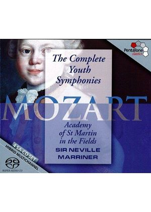 Mozart: Complete Youth Symphonies (Music CD)