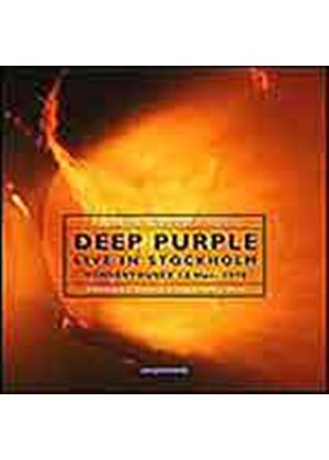 Deep Purple - Live In Stockholm 1970 (Music CD)