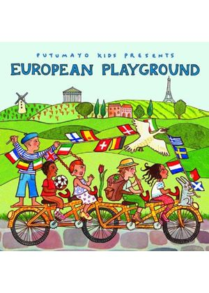 Various Artists - Putumayo Kids Presents European Playground (Music CD)