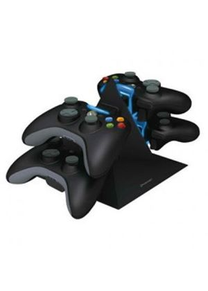 Konnet Power Pyramid Controller Charger - Black (Xbox 360)
