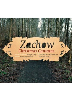 Friedrich Wilhelm Zachow: Christmas Cantatas (Music CD)