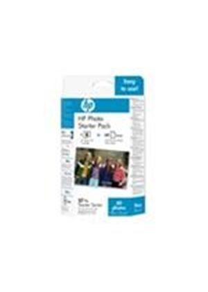 HP Photo Pack 57 - Print cartridge / paper kit - 1 x color (cyan, magenta, yellow) - 60 pages