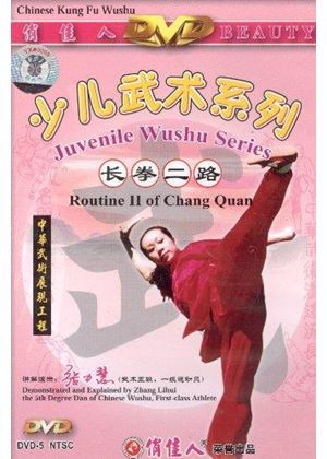 Juvenile Wushu - Routine 2 Of Chang Quan