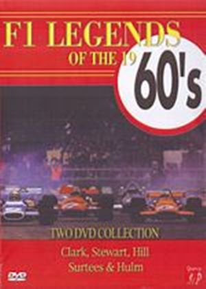 F1 Legends Of The 1960s (Three Discs)