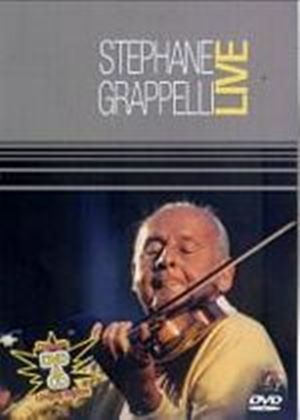 Stephane Grappelli - Live (DVD And CD)