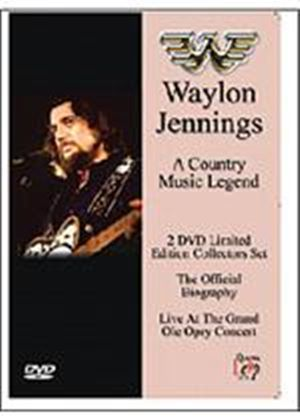 Waylon Jennings - A Country Music Legend