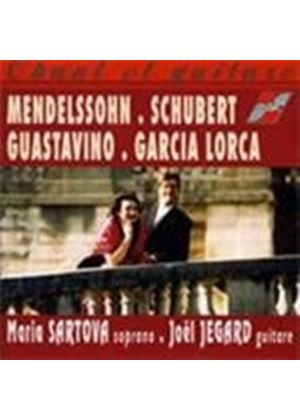 VARIOUS COMPOSERS - Chant Et Guitare - Sartova And Jegard