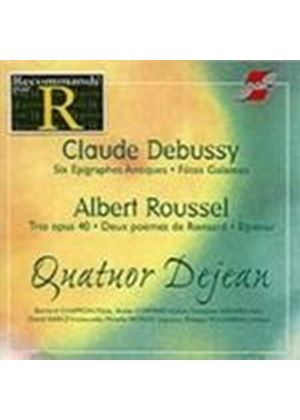 Debussy/Roussel - Works For Quartets - Quator Dejean [French Import]