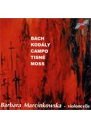 VARIOUS COMPOSERS - Pieces For Solo Cello (Marcinkowska) [French Import]