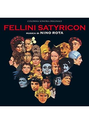 Nino Rota - Fellini Satyricon/Fellini's Roma [Original Motion Picture Soundtrack] (Original Soundtrack) (Music CD)