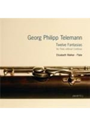 Telemann: Twelve Fantasias for Flute without Continuo (Music CD)