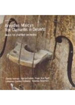 Aryvdas Malcys: Vox Clamantis in Deserto (Music CD)