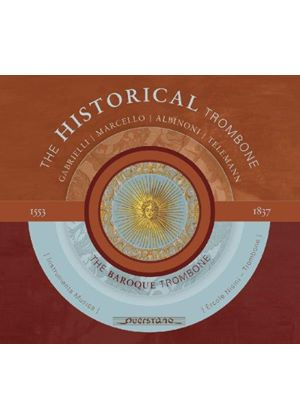 Historical Trombone, Vol. 2: The Baroque Trombone (Music CD)