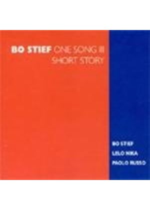 Bo Stief - One Song Vol.3 (Short Story) (Music CD)