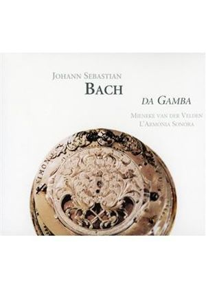 Johann Sebastian Bach - Original And Transcribed Works For Viola Da Gamba (Sonora)