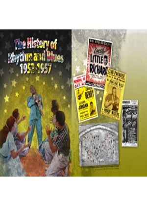 Various Artists - History Of Rhythm And Blues Vol.3, The (The Rock 'n' Roll Years 1952-1957) (Music CD)
