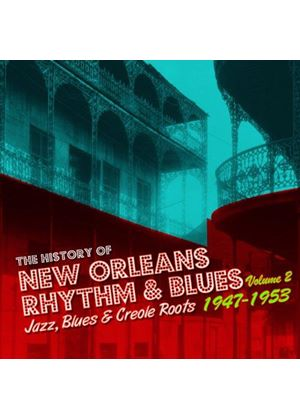 Various Artists - History of New Orleans R&B 1947-58, Vol. 2 (Music CD)