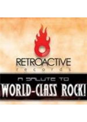 Various Artists - Salute To World Class Rock, A (Music CD)