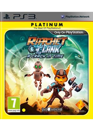 Ratchet & Clank: A Crack in Time (Platinum) (PS3)