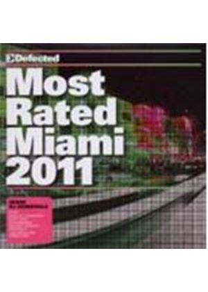 Various Artists - Most Rated - Miami 2011 (Music CD)