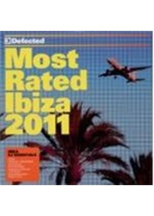 Various Artists - Most Rated Ibiza 2011 (Music CD)