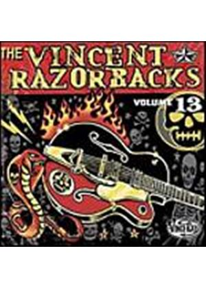 The Vincent Razorbacks - Volume 13 (Music CD)